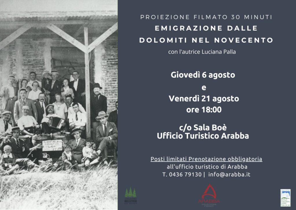 Emigrazione dalle Dolomiti nel Novecento