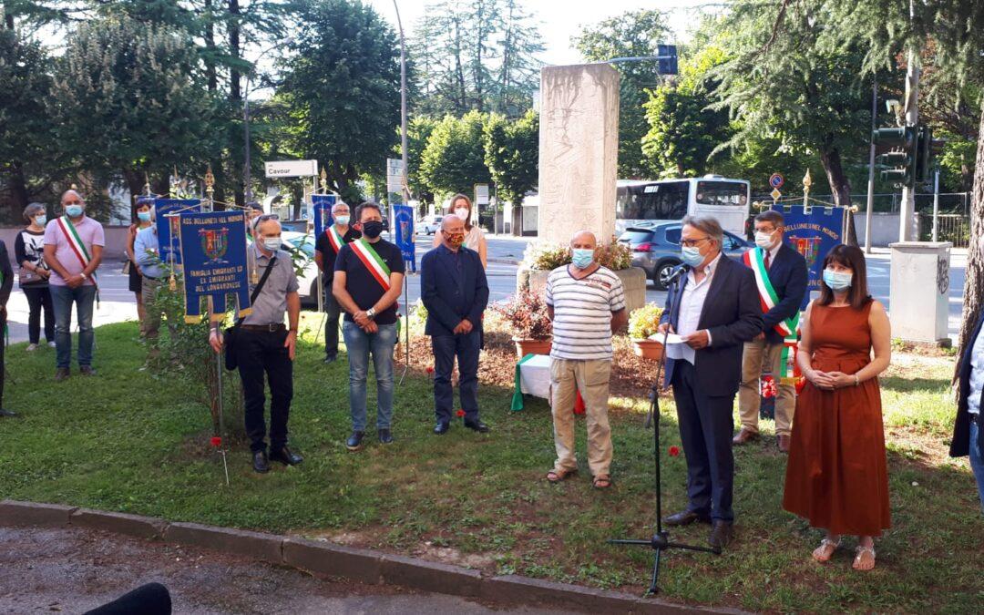 Oggi come ieri si muore a causa del lavoro L'Associazione Bellunesi nel Mondo ricorda il 64° anniversario di Marcinelle