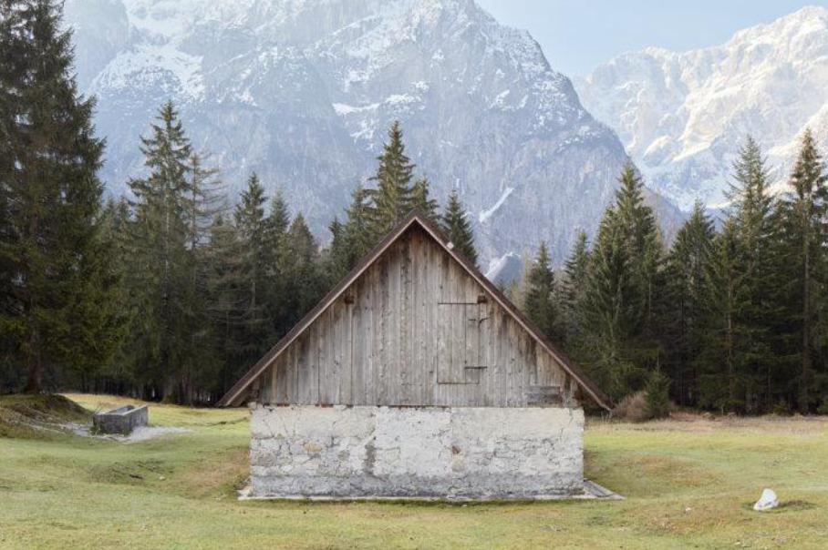 """Uno scatto della mostra """"Attraverso le alpi"""""""