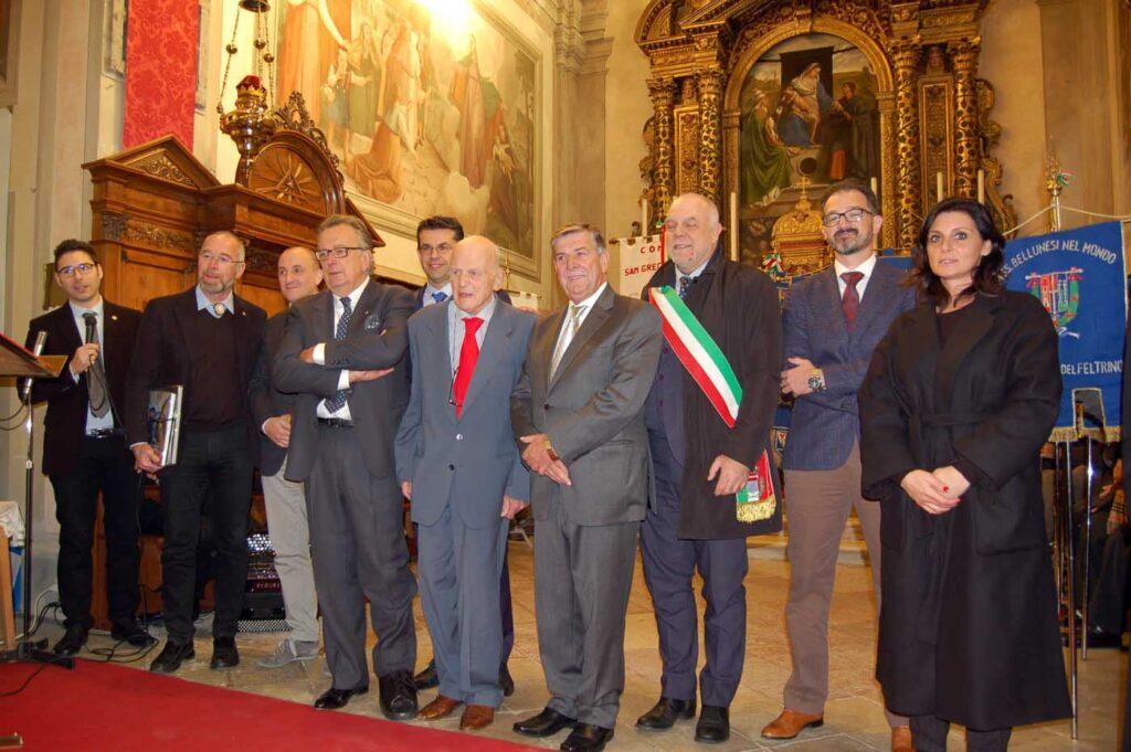 Una precedente edizione del Premio Bellunesi nel mondo
