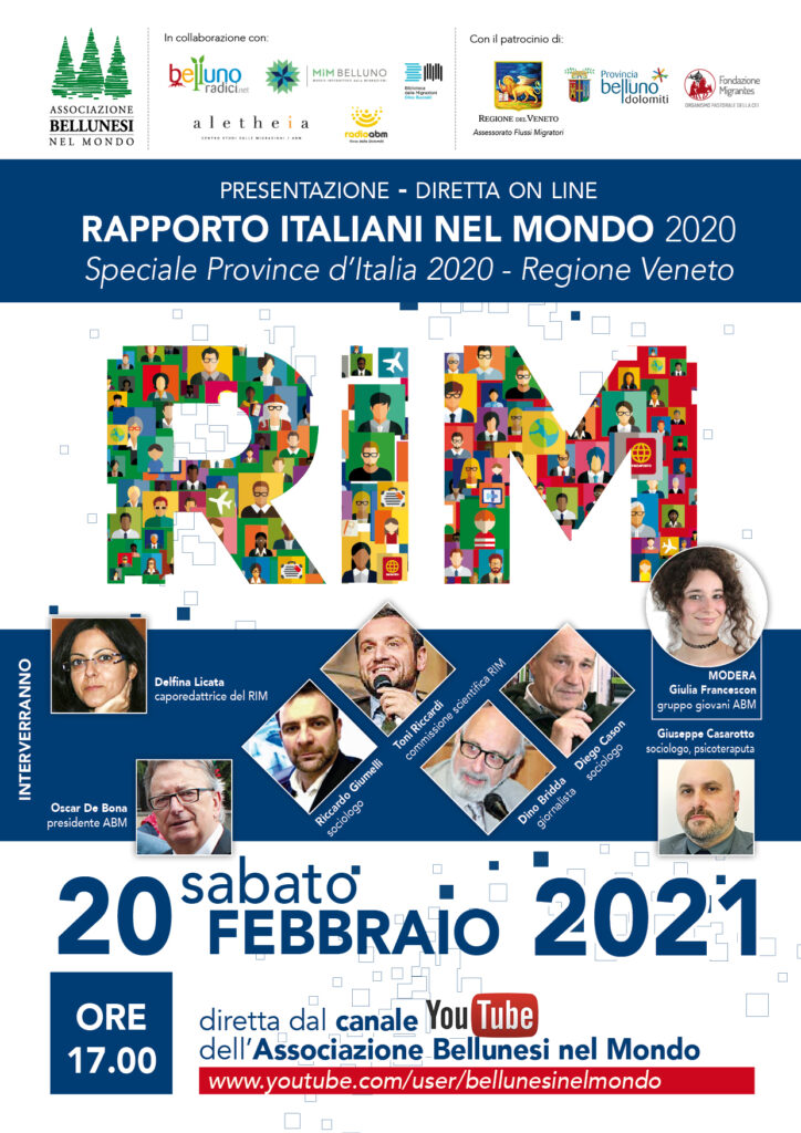 Rapporto italiani nel mondo 2020 - Veneto