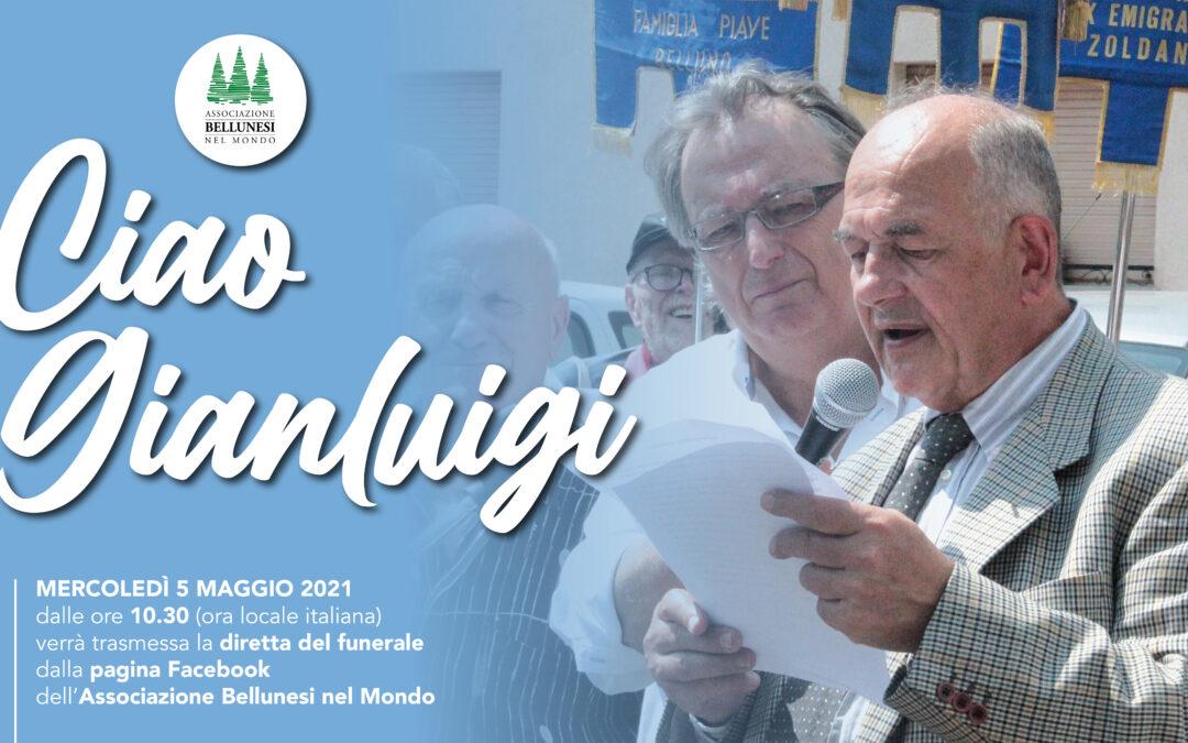 Diretta dei funerali di Gianluigi Bazzocco, presidente della Famiglia Ex emigranti di Fonzaso