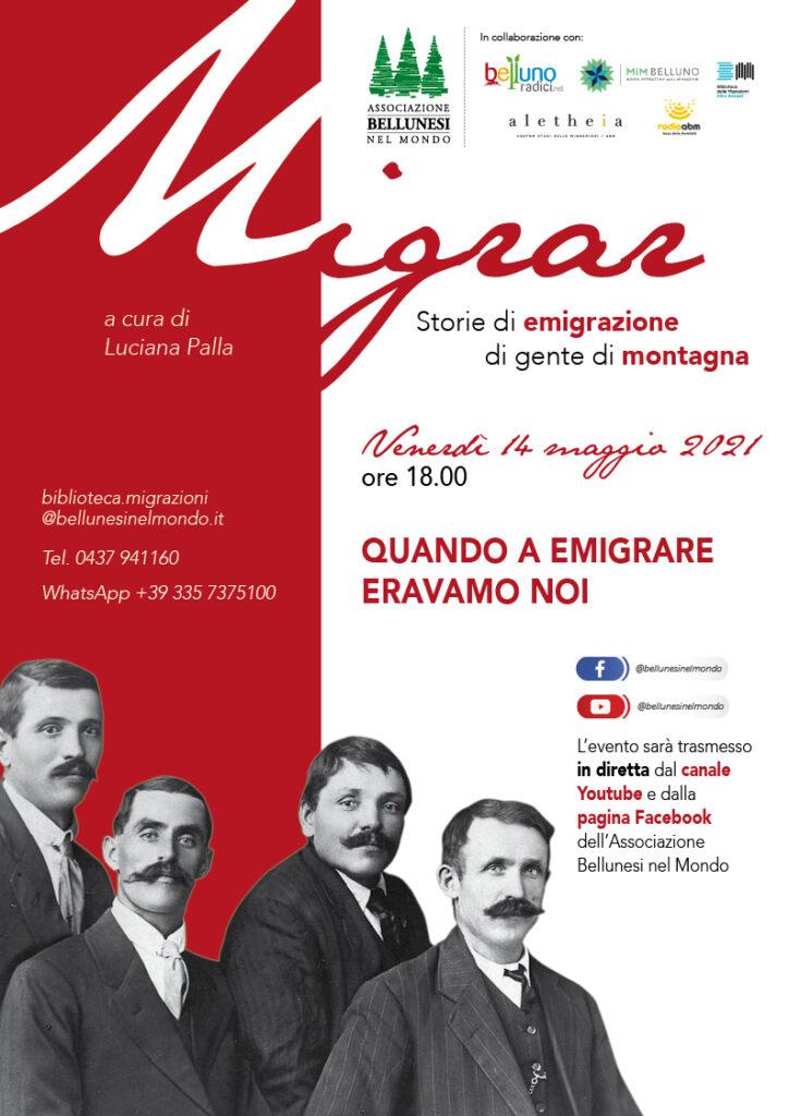 Migrar. Storie di emigrazione di gente di montagna