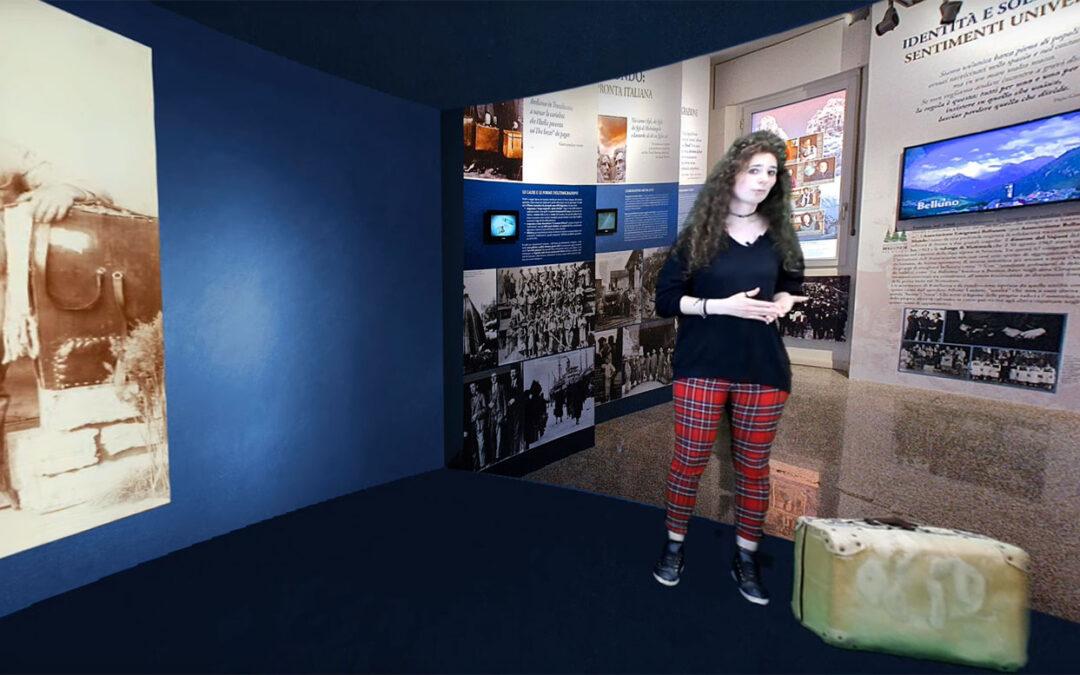 Pronta la nuova sala virtuale del MiM: racconterà i mestieri dell'emigrazione bellunese