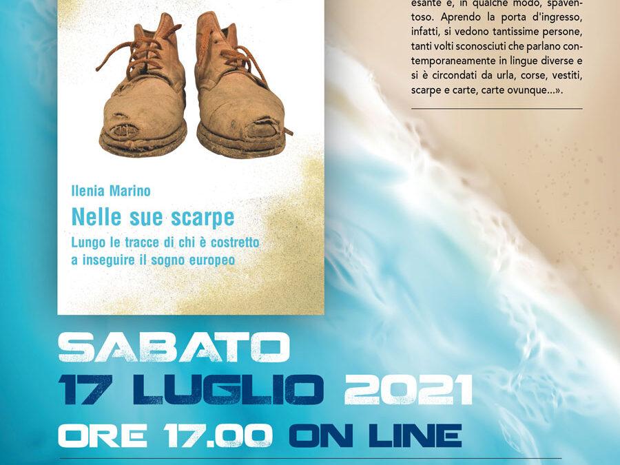 """23. """"Nelle sue scarpe"""". Il 17 luglio appuntamento online con la presentazione del libro di Ilenia Marino"""