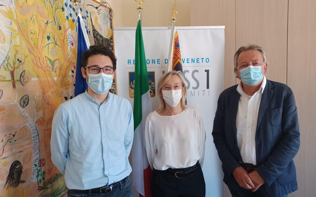 35. Ulss 1 Dolomiti e Abm. Insieme per potenziare il personale sanitario in provincia di Belluno