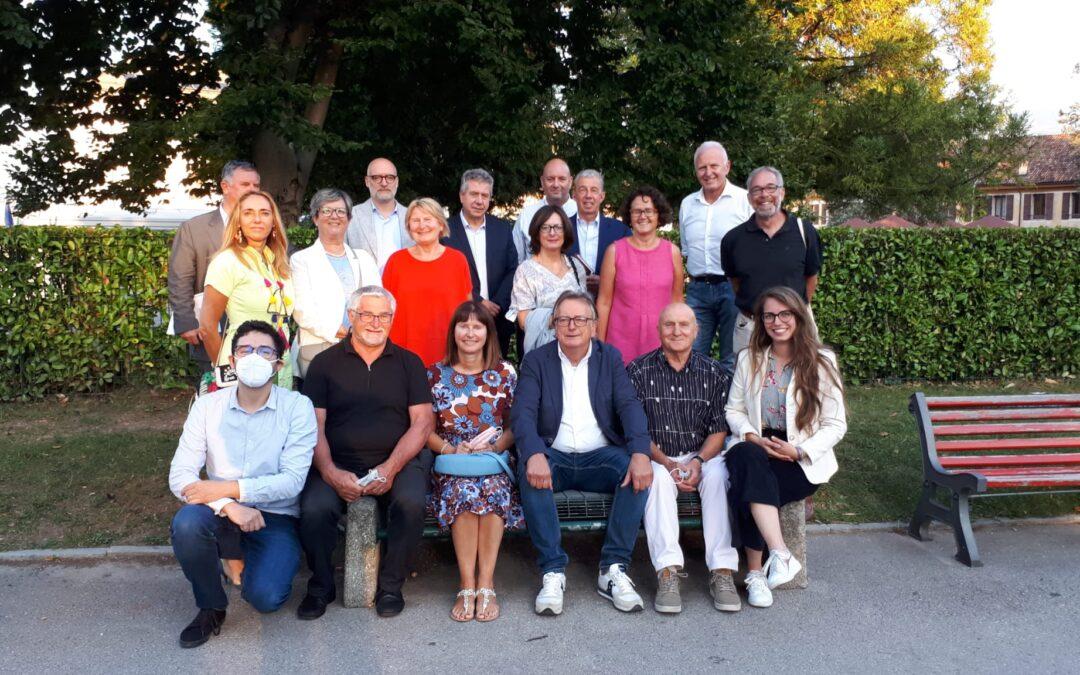 34. Oscar De Bona confermato presidente dell'Associazione Bellunesi nel Mondo per il prossimo triennio